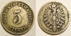 Deutsches Reich 5 pfennig