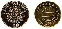 Estonia 15.65 kroon 1999