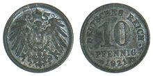 Deutsches-10Pfennig-Zn-1921