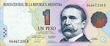 Argentina 1 peso 1993 obv