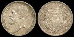 Liechtenstein half frank 1924