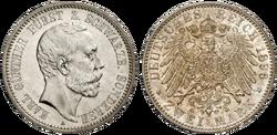 Schwarzburg-Sondershausen 2 mark 1896