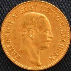 Sachsen Friedrich August 20 Mark