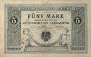 Deutsches Reich 5 Mark 1874