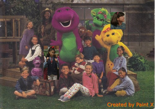 barney friends season 4 pilot cast 1996 1997 png custom barney