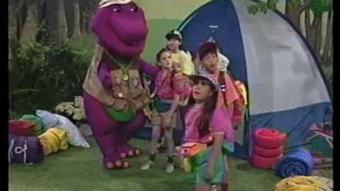 Video - Barney & the Backyard Gang Barney's Campfire Sing ...