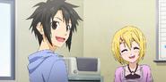 Kei and Yuta welcome Ogino