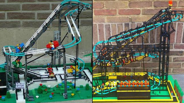 Working Roller Coaster Cuusoo Wiki Fandom Powered By