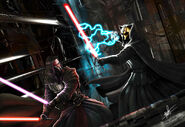 Darth Revan vs Darth Nihilus C by clarkspark