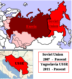 a history of the union of soviet repulic in russia Also called russia, soviet union unlike the soviet union at a certain period in history, the russian economy does not hold a candle to that of the united states a former federal republic in e europe and central and n asia: the revolution of 1917 achieved the overthrow of the russian monarchy and the soviet union.
