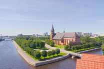 Old cathedral of Kaliningrad Ravenspur