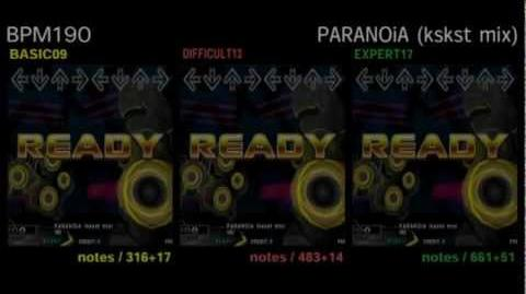 DDR X3 PARANOiA (kskst mix) - DOUBLE