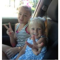 Chloe & Clara Peace
