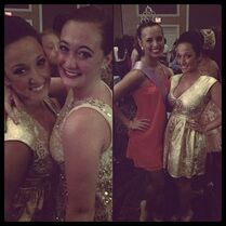 Auriel and Payton at 2014 Sheer Talent Nationals with Gianna on Gianna-gram