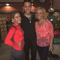 Hadley Zack and Yvette - on Zacks birthday 2015-03-16