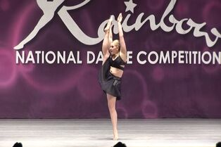 Taylor O'Lear with Bourn Academy of Dance at Rainbow 03-06-2015 (I Will Always Love You) 00.47