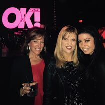 Jill Melissa Kira at OK! magazine Grammy party