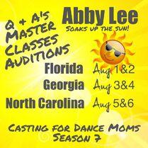 Season 7 Casting poster - FL, GA + NC