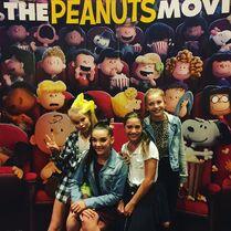 JoJo Kendall Mackenzie Brynn Peanuts movie