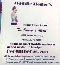 Maddie Meet and Greet