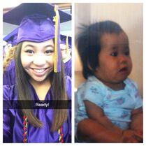 SarahP graduating HS May2014