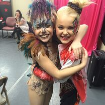 Mackenzie and JoJo 2015-01-17