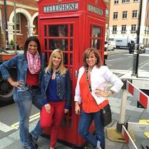 Dance Moms by British red telephone box - 2014 - Holly Melissa Jill