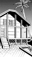 Beach house in the manga