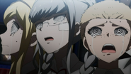 Sonia, Peko, Fuyuhiko crying