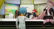 Nagisa scolding the others