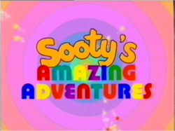 Sooty's Amazing Adventures Title