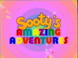 Sooty's Amazing Adventures Title