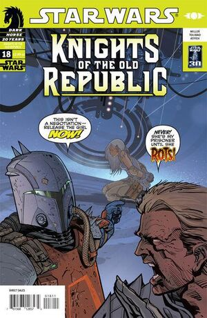 Star Wars Knights of the Old Republic Vol 1 18