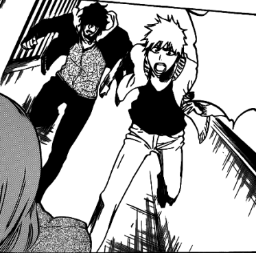 File:Sado and Ichigo arrive to help Orihime.png