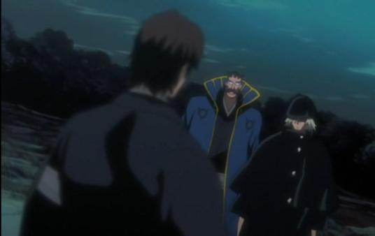 File:Kisuke confronts Sosuke Aizen.png