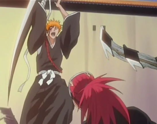 File:Ichigo attacks renji.png