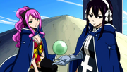 Meredy and Ultear sense the magic