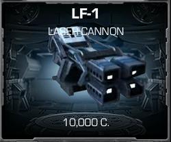 LF-1 Laser Cannon