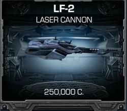 LF-2 Laser Cannon