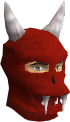Red h'ween mask chathead