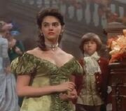Victoria dressed as Josette