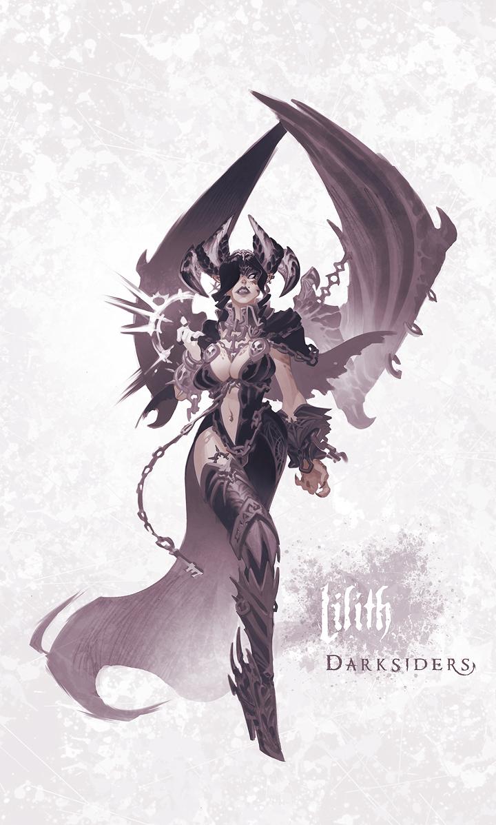 Darksiders: lilith by chimicalstar on DeviantArt