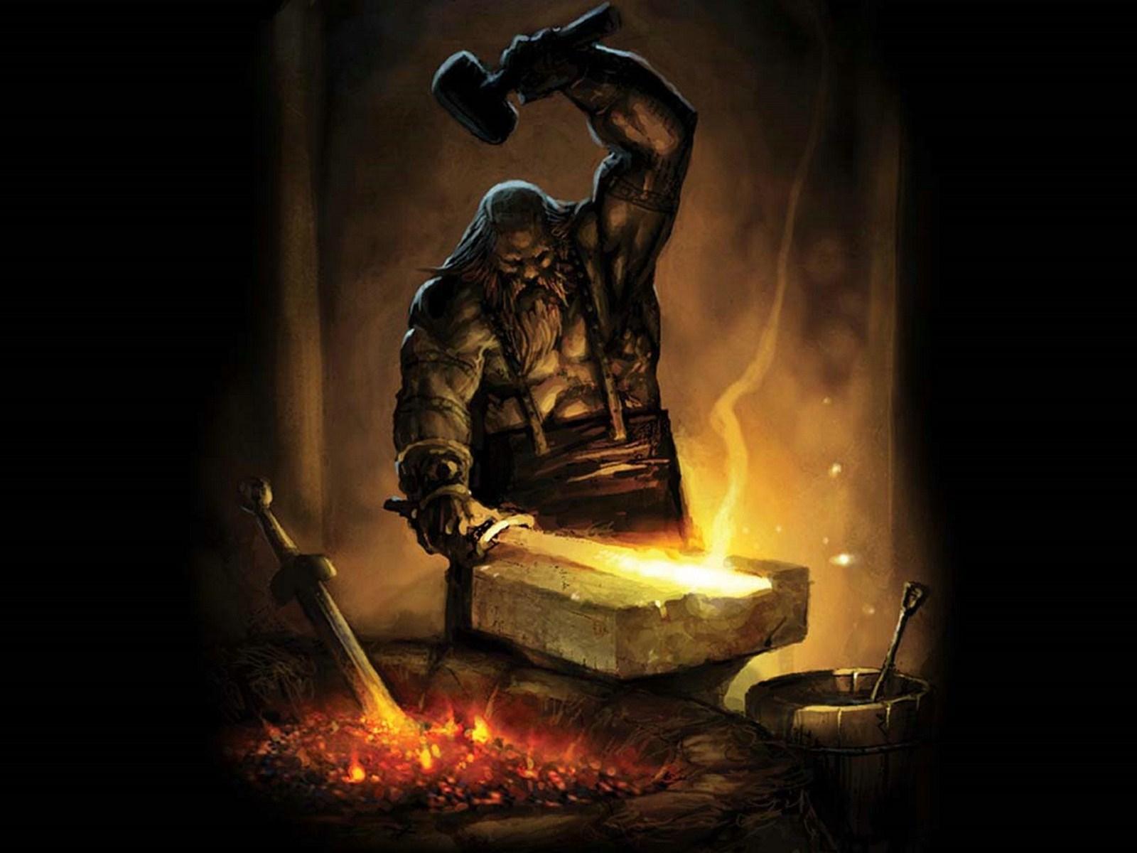 Image result for forging a sword art
