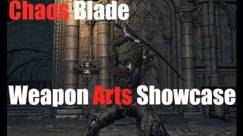 Dark Souls 3 Chaos Blade - Weapon Arts Showcase