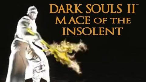 Dark Souls 2 Mace of the Insolent Tutorial (dual wielding w power stance)