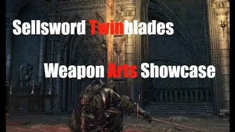 Dark Souls 3 Sellsword Twinblades - Weapon Arts Showcase