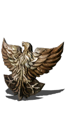 Golden Falcon Shield