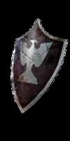 Silver Eagle Kite Shield
