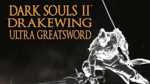 Dark Souls 2 Drakewing Ultra Greatsword Tutorial (dual wielding w power stance)