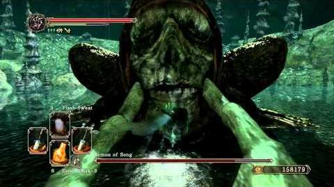 Dark Souls 2 - Demon of Song (Melee) Power Stance (Ultra Greatswords)